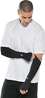 Coolibar UPF 50+ Men's Backspin Performance Sleeves - Sun Protective