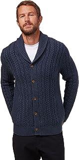 Men's Shawl Collar Fisherman Cardigan