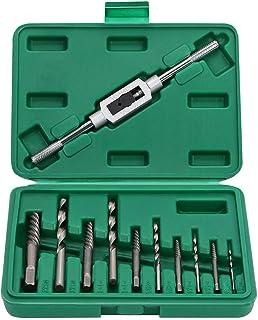 OCGIG Extractor de Tornillos Kit 11Pcs Removedor con Portamachos y Caja