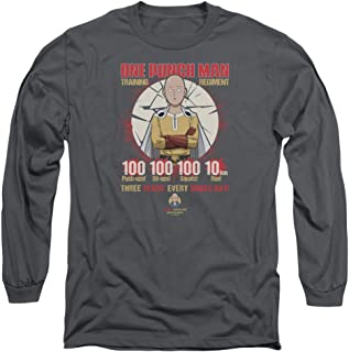 One Punch Man Training Regiment Unisex Adult Long-Sleeve T Shirt for Men and Women