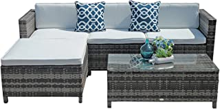Amazon Com White Patio Furniture Sets