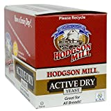 Hodgson Mill Active Dry Yeast, 0.31 Ounce (Pack of 48), More Yeast Than Most for Whole Grain Baking, Great for Whole Wheat Bread or Pizza Dough, Made in a Gluten-Free Facility
