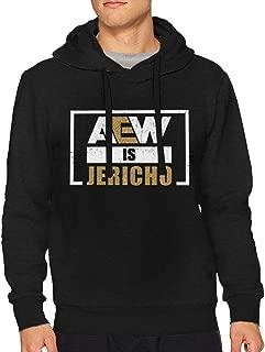 Aew is Jericho Hoodies Mens Cotton Shirt Black