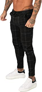 GINGTTO Mens Chinos Pants Slim Fit Stretch Dress Pants for Men