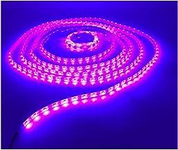 LEDMY Pink Led Strip Lights,16.4ft Led Light Strip 3528 Led Tape Lights,DC12V, 24W, 300LEDs,IP62 Easy Waterproof,Strong 3M...