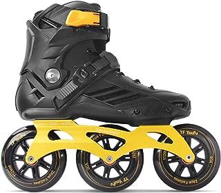 YF YOUFU Adult Fitness Inline Skate, Performance Inline Skates with 110mm 3-Wheels Skates for Men/Women