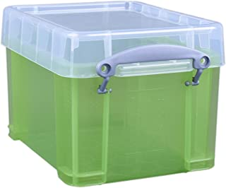 Really Useful Box 3 Litre Transparent Green