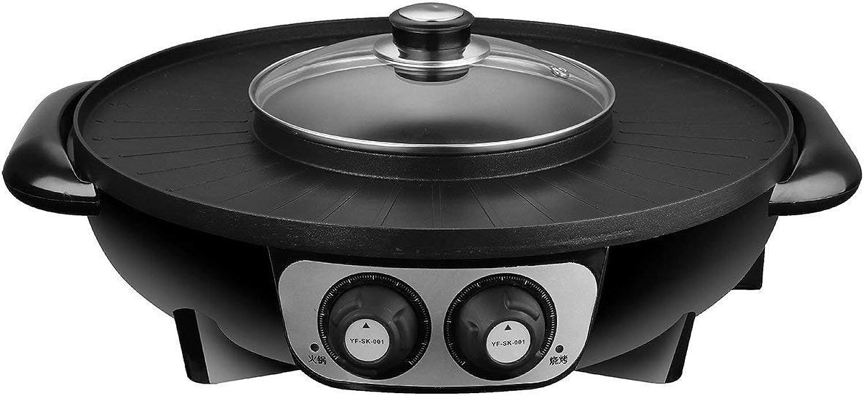 Bloomerang 2 in 1 1500W 220V 1.6L Electric Pan Shabu Suki Hot Pot BBQ Frying Cook Grill