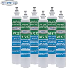 Aqua Fresh WF277 Replacement Water Filter For GE RPWF (Not RPWFE), Water Sentinel WSG-4 Water Filter (6 Pack)