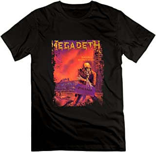 US-adult Megadeth Band 30th Anniversary Tshirt Shirt.