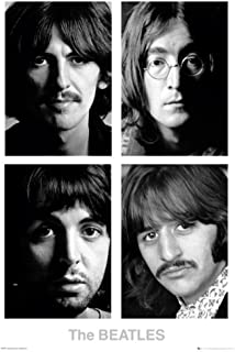 Imaginus Posters Beatles White Album John Lennon Rock Music Poster 24 x 36 inches