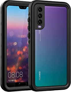ASAKUKI Waterproof Case For HUAWEI P20 PRO, Full Body Drop Protection Clear Case with Screen Protector and Kickstand, Shockproof and Waterproof for HUAWEI P20 PRO