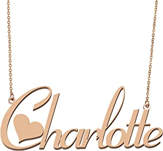 by charlotte necklace
