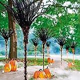 HJTLSKBZ Pre Lit Broomstick Halloween Lights Outdoor, Christmas Lights for Pathway Markers, Lighted Witch Broomstick, Halloween Lights Night Decorations for Patio Walkway Yard Lawn-1PCS