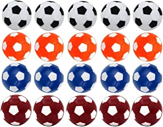 Fafeims 8 Piezas Antideslizantes pu/ños de futbol/ín ni/ños ni/ños Mesa f/útbol f/útbol Mango Piezas de Repuesto