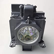 CTLAMP POA-LMP136 Assembly with Genuine OEM Bulb Inside Projector Lamp Assembly with Original Bulb Inside Compatible with Sanyo PLC-WM5500/PLC-WM5500L/PLC-XM150/PLC-XM150L/PLC-ZM5000/PLC-ZM5000L