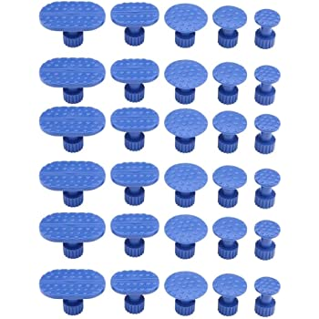 30pcs Nylon Car Body Dent Removal Pulling Tabs Paintless Dent Repair Tools Glue Puller Tabs for Automobile Pulling Tabs Kit Motorcycle Body Washing Machine Refrigerator