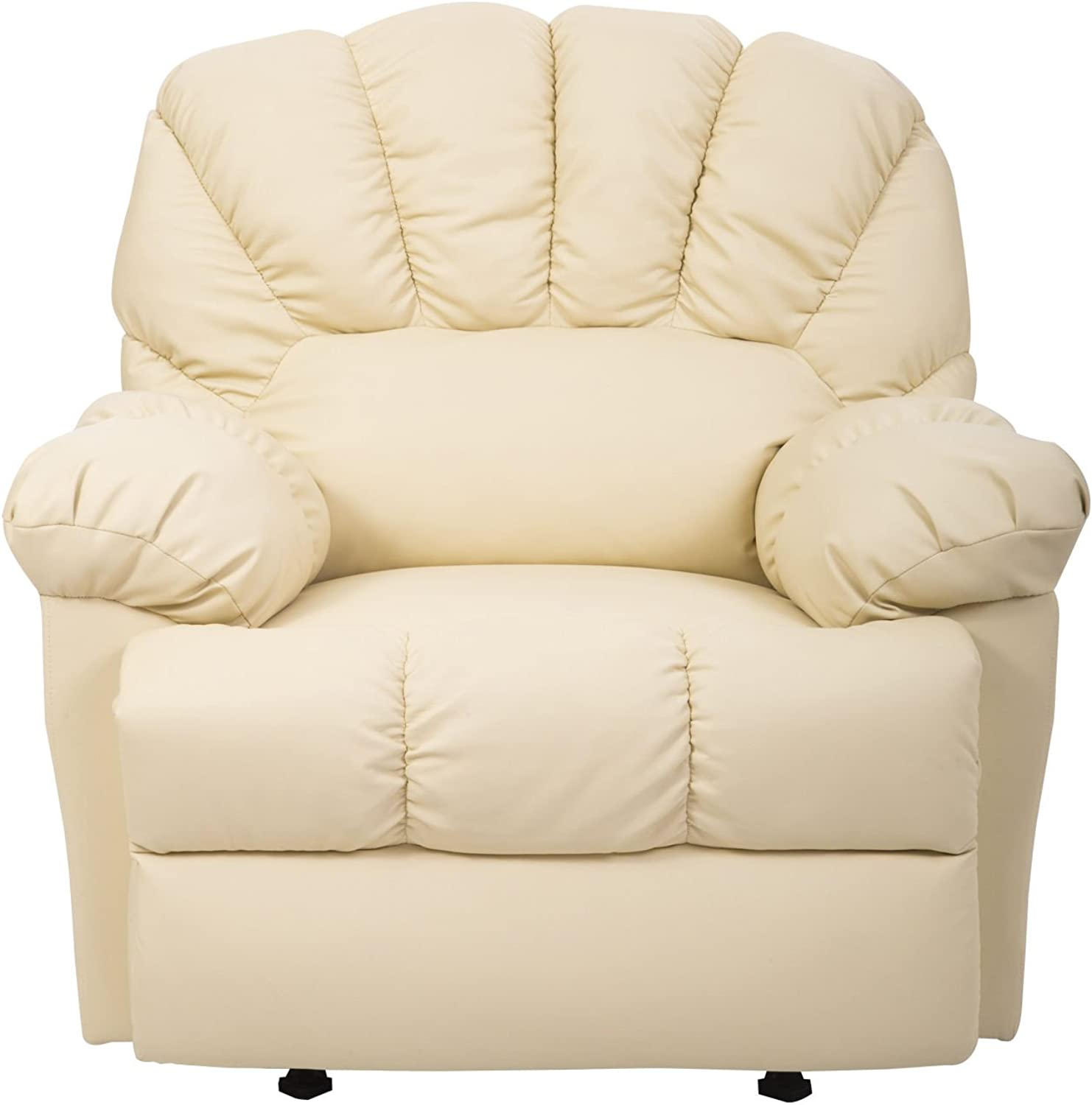 Generic e Cream Room Furniture ure Cream New Chair Living Room Furn Recliner Sofa Rocking Single Chai Cream New a Rocking Couc Couch Single