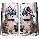i-Case Etui en PU 360 Protection Full Cuir pour Samsung Galaxy J3 2017/J330 Coque Flip Case Housse...