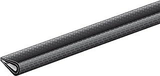 GAH-Alberts 426859 randbeschermingsprofiel   zacht pvc, zwart   1500 x 10 x 7 mm
