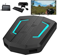 PS4 Keyboard and Mouse Adapter – [2019 Upgraded Version] Keyboard and Mouse Adapter for PS4, Xbox One, PS3, Nintendo Switch, Suitable PUBG, Battle Field, Call of Duty Game (Black-N)
