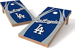 Wild Sports MLB Los Angeles Dodgers V Design Tailgate Toss XL with Shield, Multi, 48