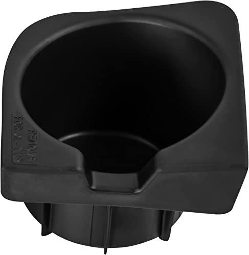 wholesale Cup Holder Insert Compatible with discount Toyota Tacoma 2021 05-17 Replaces - 66991-04012 (Front Left Driver Side) Seat Center Console Liner outlet online sale