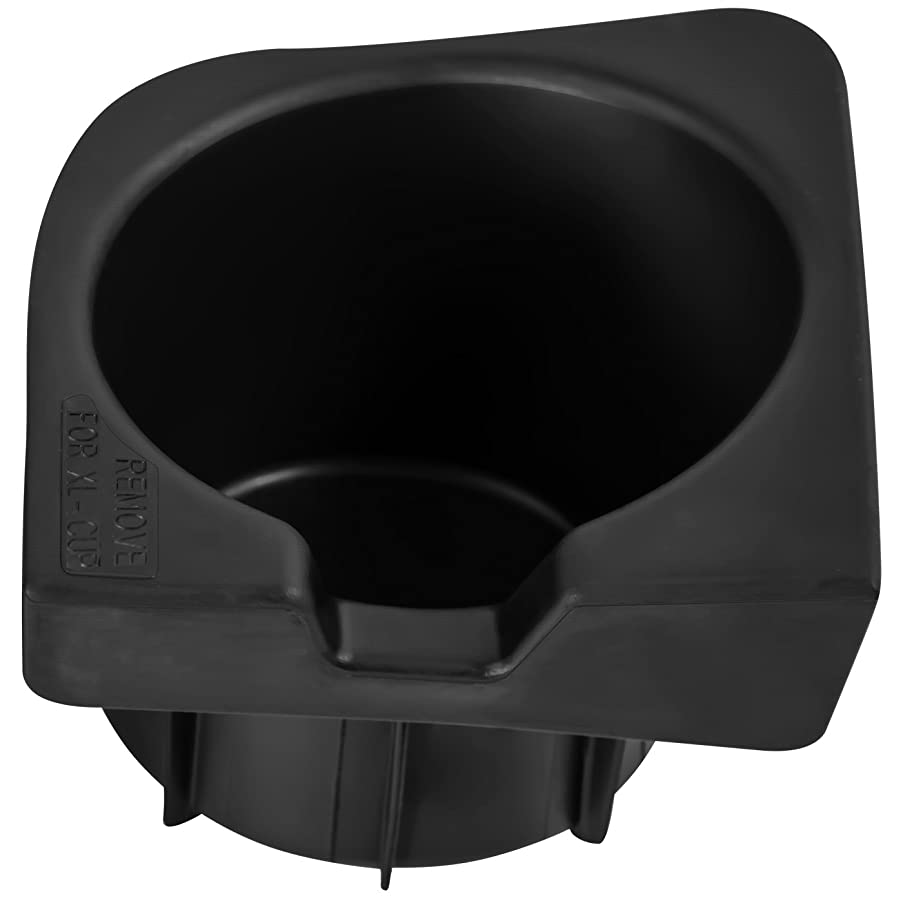 OxGord Cup Holder Insert for 05-17 Toyota Tacoma Replaces - 66991-04012 (Front Left Driver Side) Seat Center Console Liner