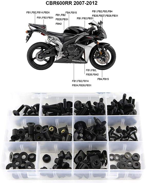 FRW 6Color Fuel Cap Bolts Set For Honda CBR600RR ABS 07-15 08 09 10 11 12 13 14