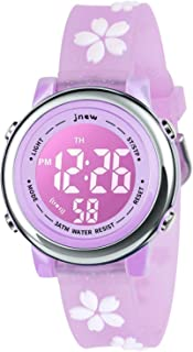 Kids Watch, 3D Cartoon Watch with 18 Color Lights and Alarm - Gifts for Kids for Girls Boys