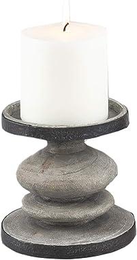 "Fennco Styles Decorative Weathered Candle Holder (6"")"