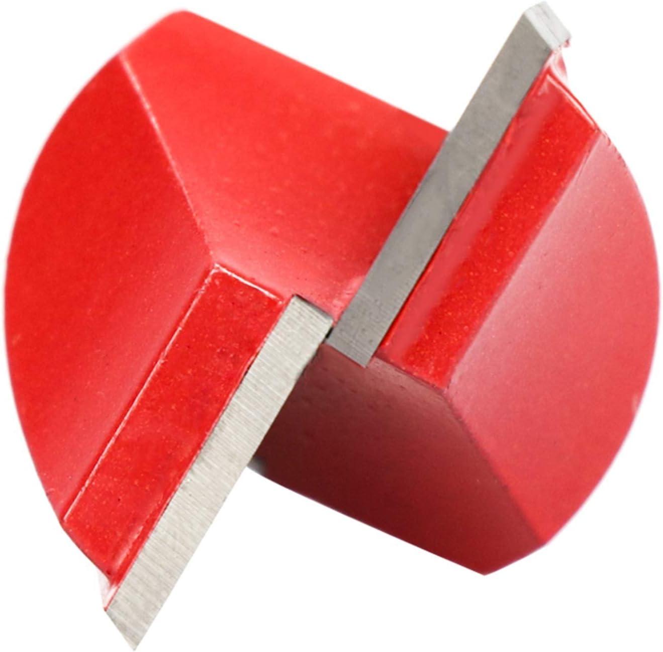 bits de Grabado de la Limpieza de la Limpieza de la Cubierta de Madera de 28 mm Robusto y Duradero Lueao Cqinju-Fresas Tipo v/ástago bit Router de Madera de fresado CNC de 6mm CNC 1pc