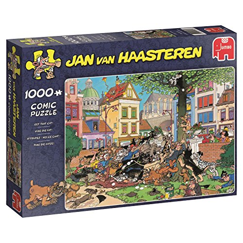 Jumbo 19056 Puzzel Jvh: Get That Cat 1000 Stukjes