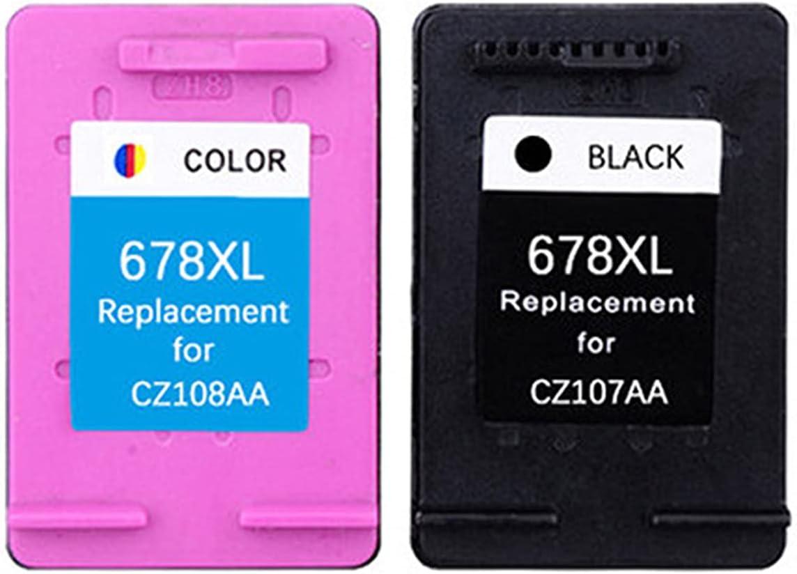 HYYH Compatible for HP 678XL Toner Cartridge Replacement for HP Deskjet 1018 1515 2515 2545 1015 1518 2548 2645 2648 3515 3545 3548 Printer Ink Toner, Vibrant Colors Suit