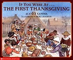 If you were at the First Thanksgiving Book for Children