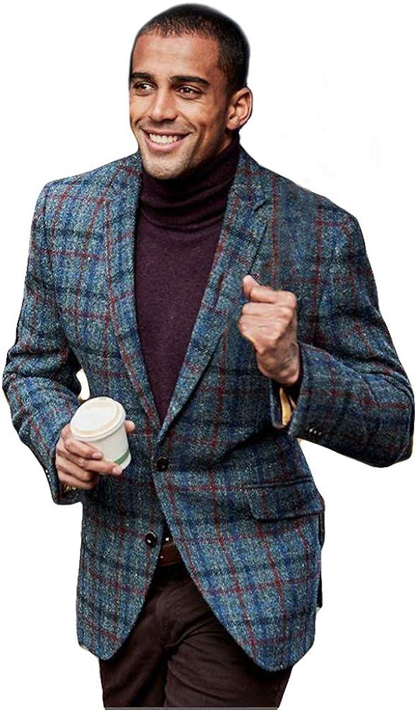Brook Taverner The Scotland Kilt Company Mens Scarista Harris Tweed Jacket