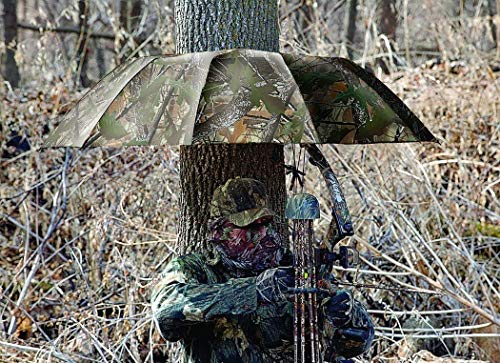 COLIBROX Instant Roof Tree Stand Umbrella (Oakbrush, 57-inch), New