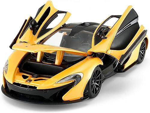 ventas de salida KaKaDz KaKaDz KaKaDz Wei KKD Escala Modelo Simulación Vehículo Model Car McLaren Simulation Alloy Toy Car Static Model 1 24 Entretenimiento Juguetes Colección Pasatiempo ( Color   amarillo )  70% de descuento