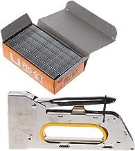 KunmniZ 1008F grapadora manual de uñas U pistola grapadora para muebles de madera uso doméstico