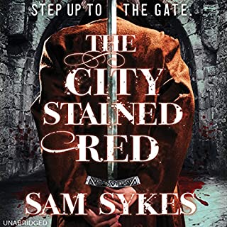 The City Stained Red audiobook cover art