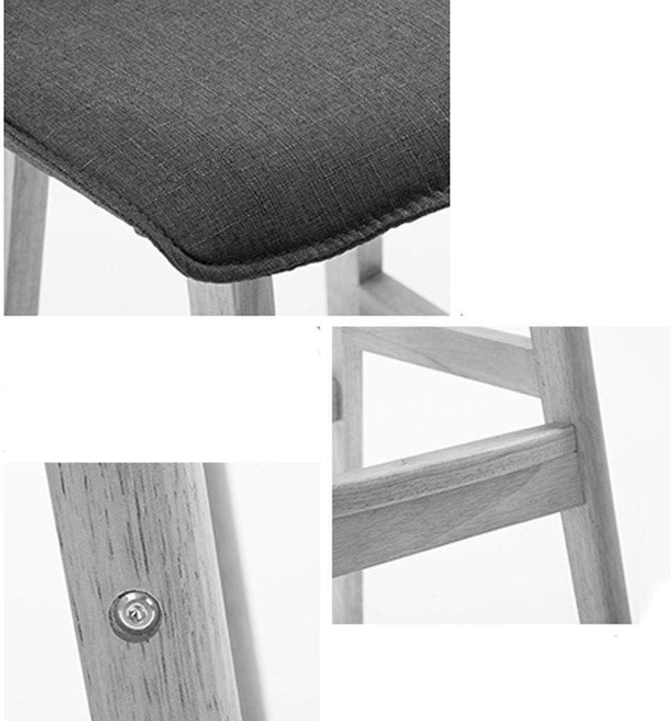 Dining chair WGZ - Tabouret de Bar Simple en Bois Massif - Chaise de Bureau Moderne en chêne C