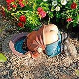 Gärtner Pötschke Gartenfigur Leo mit nacktem Po