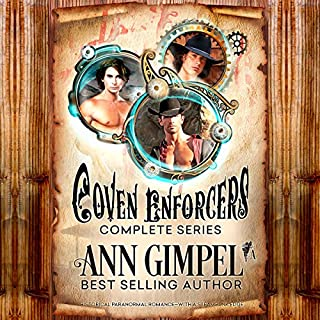 Coven Enforcers audiobook cover art