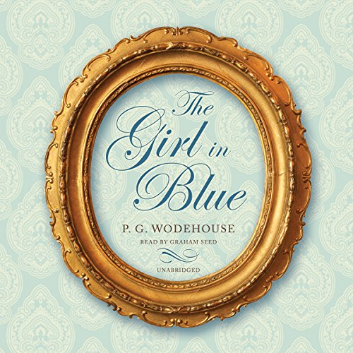 The Girl in Blue audiobook cover art