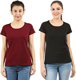 MIDAAS Women's T-Shirt (Pack of 2)