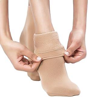 Blostirno Women's Winter Warm Socks Thick Fleece Lined Trouser Socks Multi-Pack Value Bundle