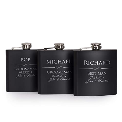 baa8f443c7a6a Groomsmen Gifts Personalized: Amazon.com