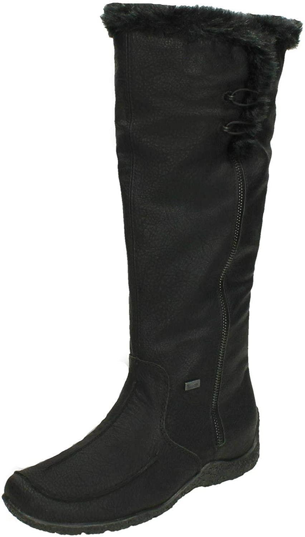Rieker Women Boots Black, (SCHWA SCHW) 79954-00
