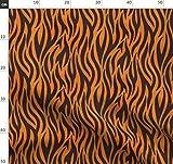Tiger, Streifen, Afrikanisch, Indianisch, Tier, Tierhaut