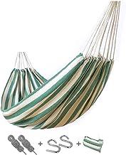 Recreation Camping Hammock - Lightweight Hammock, Hold Up to 150kg, Portable Hammocks for Indoor, Outdoor, Hiking, Camping...